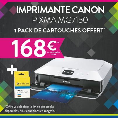 Imprimante CANON PIXMA MG7150 - Cartridge World Châteauroux